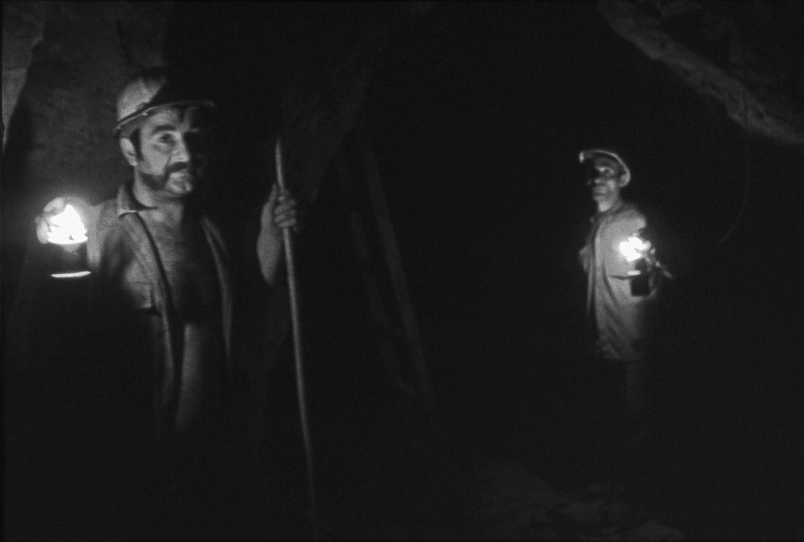 Miniera di zolfo  -400m ,   Altavilla Irpina 1979.
