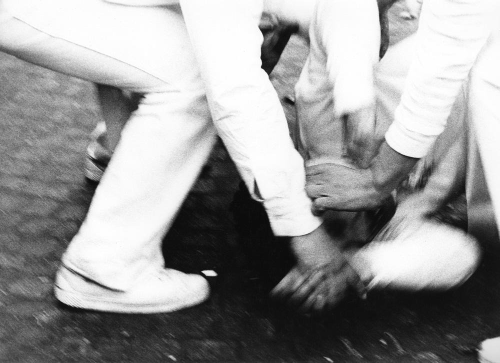 """La trance dei """"Fujenti"""" alla festa della Madonna dell'Arco, Sant'Anastasia, Napoli 1979"""